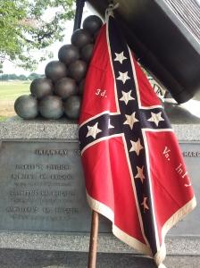 3d Va colors @ the Copse of Trees, Gettysburg